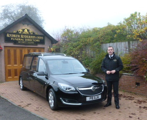 Andrew Anderson & Sons Funeral Directors - P1050601