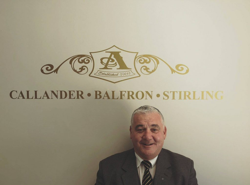 Pat Martin Andrew Anderson & Sons Funeral Directors, Stirling