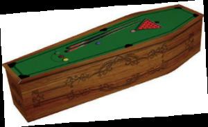 Alternative Coffin Range - Snooker