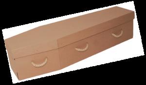 Eco Friendly Range - Woodland Cardboard Coffin